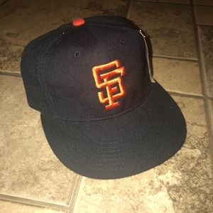 Vintage San Francisco Giants Fitted New Era Hat